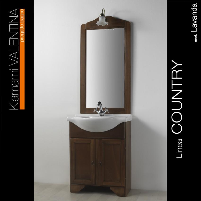 Mobili bagno soluzioni country e arte povera aziende shop - Arredamento bagno arte povera ...
