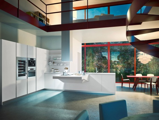 Cucine moderne Snaidero per gli appassionati di interior design