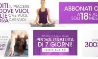 Scopri i video esercizi di yoga online del portale Yogare